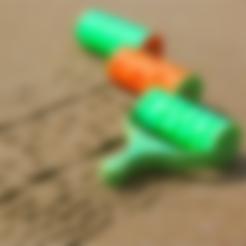 Handle.STL Download free STL file Sand Pattern Rollers • 3D printing design, JonathanK1906