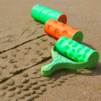Archivos 3D gratis Rodillos patrón de arena, JonathanK1906