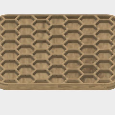 Capture d'écran 2017-10-31 à 09.24.09.png Télécharger fichier STL gratuit Coaster en nid d'abeilles • Plan à imprimer en 3D, JonathanK1906