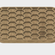 Download free STL file Honeycomb Coaster, JonathanK1906