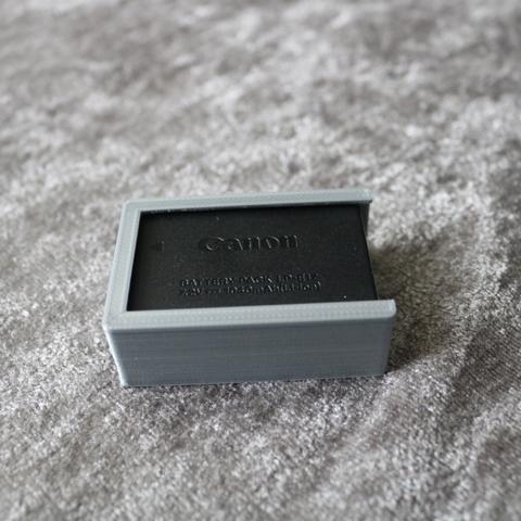 Capture d'écran 2017-10-16 à 15.08.03.png Download free STL file Canon LP-E17 Battery Holder • 3D printing model, JonathanK1906