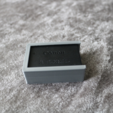 Free 3d print files Canon LP-E17 Battery Holder, JonathanK1906