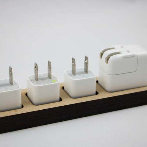Download free STL file Apple Charger Dock (Laser Cut), JonathanK1906