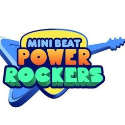 Download STL file cookie cutter - LOGO - mini beat power rockers, Magonet