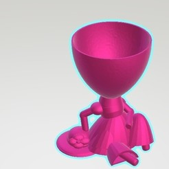 Download 3D printer templates LOLI POT - Relaxed, Magonet