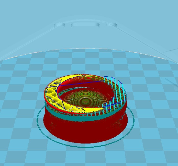 support.jpg Download free STL file Towel holder • 3D printable template, dogmine