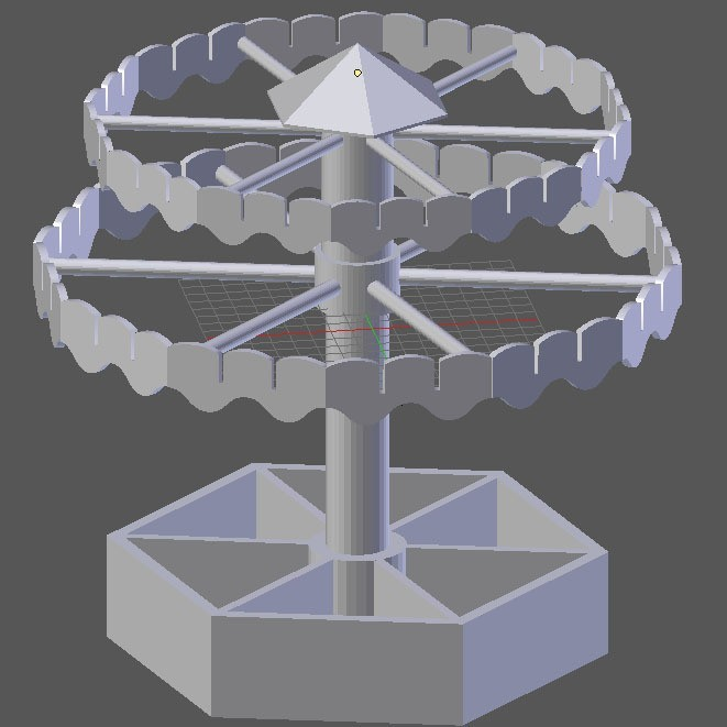 blender.jpg Download free STL file jewelry carousel • Model to 3D print, dogmine