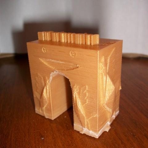 Download free 3D printer model triumphal arch stratomaker