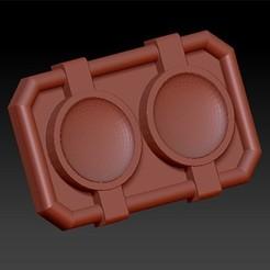cinto03.jpg Télécharger fichier STL Boucle de ceinture Turbo des Power Rangers • Plan pour imprimante 3D, EstelaGremista