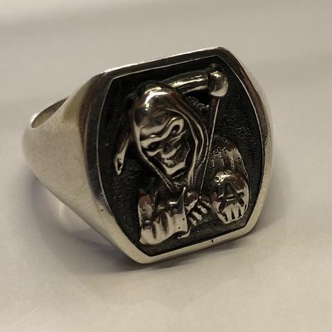 Modelos 3D para imprimir gratis anillo de sello reaper, Janusz