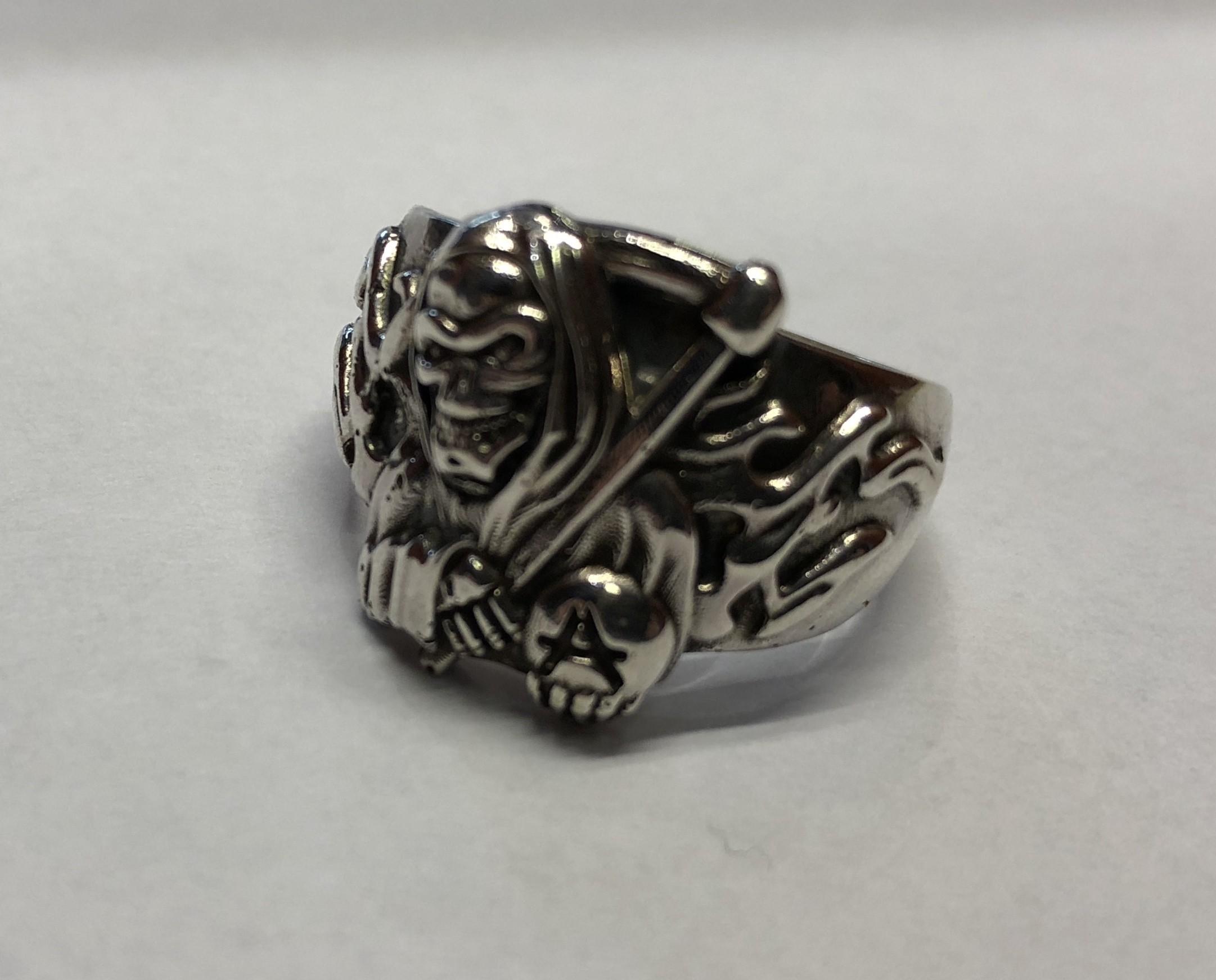 IMG_0390.jpg Download free STL file Reaper ring • 3D printer template, Janusz