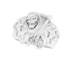 reaper.jpg Download free STL file Reaper ring • 3D printer template, Janusz