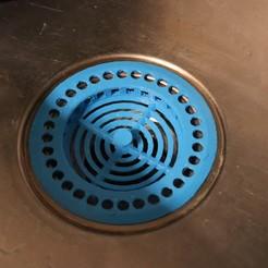 fichier imprimante 3d Filtre d'évier / Kitchen sink filter, JustPriNt3D