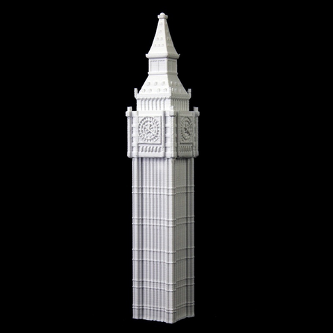 Download free 3D printer designs Big Ben, Cool3DModel