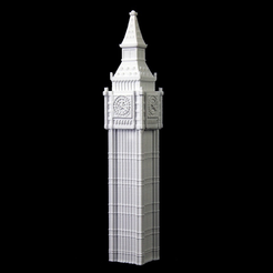 Download free STL file Big Ben • 3D printable model, Cool3DModel