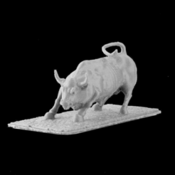 Download free STL file Wall Street Bull, New York • 3D printer model, Cool3DModel