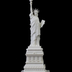 Download free STL file Statue of Liberty in Manhattan, New York • 3D printable design, Cool3DModel