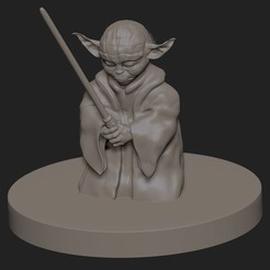 Download 3D printer designs Yoda , Dipmuse