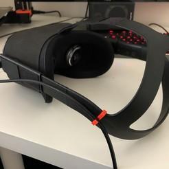 Descargar diseños 3D gratis Soporte del cable de búsqueda de Oculus, LukasJandura