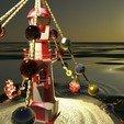 Download free 3D printer model Christmas scene - Christmas scene -Lighthous,Buoy, 3DBenchy, saginau