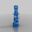 Download free 3D printer designs Lighthouse-Buoy, Dual extruder Test, saginau