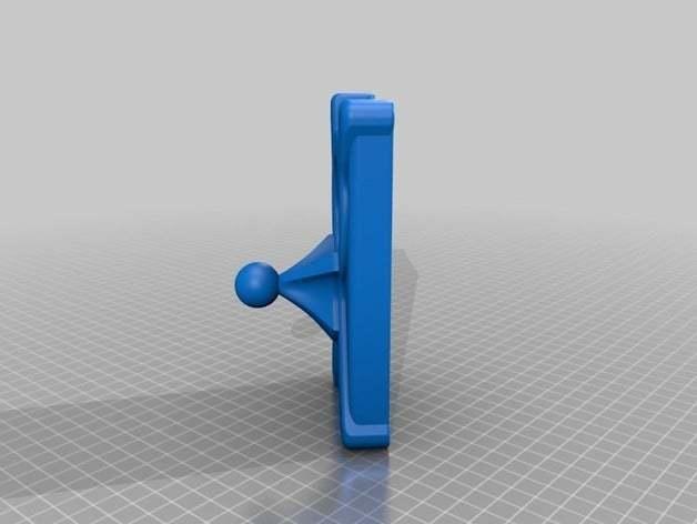 05cf79f49e57c36cb58aa2d51c566177_preview_featured.jpg Télécharger fichier STL gratuit Estuche, funda protectora Nokia Lumia 1020, con sistema articulado • Design pour imprimante 3D, saginau