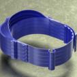 Télécharger fichier STL gratuit Protection faciale renforcée 36 grammes, peut être imprimée en pile • Objet à imprimer en 3D, saginau