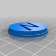 Télécharger fichier STL gratuit Coeur avec des lettres qui peuvent être changées • Objet à imprimer en 3D, saginau
