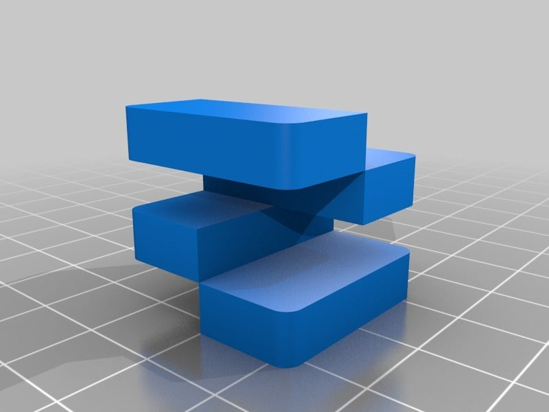 90e52e6ecfd9e424a30963ed77b8124e.png Télécharger fichier STL gratuit Calibrage de l'extrudeuse double • Objet à imprimer en 3D, saginau
