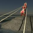 escena_nadidad_levantando_el_faro-Temp0025.png Download free STL file Christmas scene ,Lighthouse - 3DBenchy • 3D printing object, saginau
