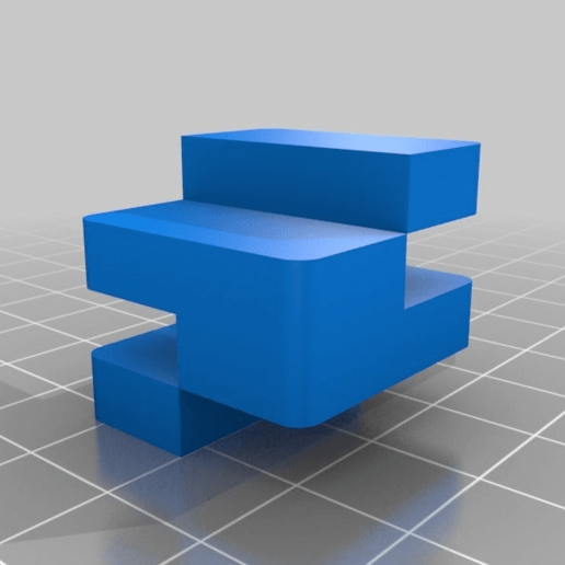 d04d526c61b049ddfe18462ae0660887.png Télécharger fichier STL gratuit Calibrage de l'extrudeuse double • Objet à imprimer en 3D, saginau