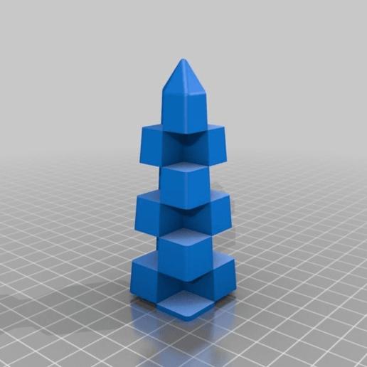 fe9594241ad7e47b4cc038aee9933c57.png Télécharger fichier STL gratuit Calibrage de l'extrudeuse double • Objet à imprimer en 3D, saginau
