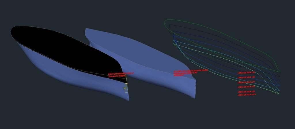 Radio_Metacentrico_Saghessi.bmp.jpg Télécharger fichier STL gratuit Buque série 60 - Navire de la série 60 • Design pour impression 3D, saginau