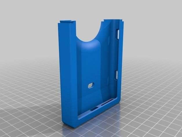39589124e1a56f8f25b179c6e29a19bb_preview_featured.jpg Télécharger fichier STL gratuit Estuche, funda protectora Nokia Lumia 1020, con sistema articulado • Design pour imprimante 3D, saginau