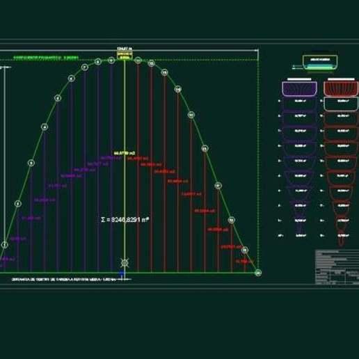 Proyecto_Arquitectura_Naval_Saghessi.bmp.jpg Télécharger fichier STL gratuit Buque série 60 - Navire de la série 60 • Design pour impression 3D, saginau