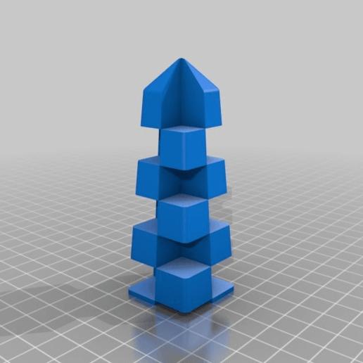8bec269ca4dac1354d707fbebb79a0e1.png Télécharger fichier STL gratuit Calibrage de l'extrudeuse double • Objet à imprimer en 3D, saginau