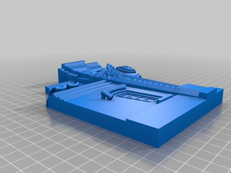 e03ccb1a124b0e4c475ebfefbd7fabf7.png Download free STL file House of Tucumán, Argentinean Independence • 3D printable model, saginau