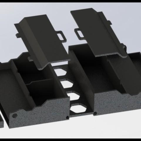 Imprimir en 3D gratis cajas de almacenamiento Anet A8, AnthonyAvGs