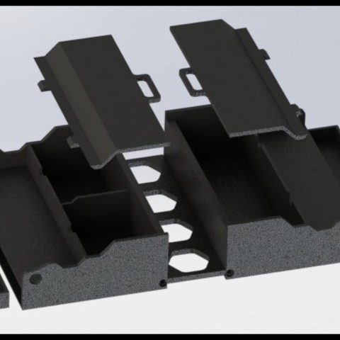 Free 3D printer designs Anet A8 storage boxes, AnthonyAvGs