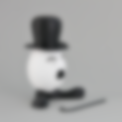 Download free 3D printing files Easter Egg Gentleman, GabrielYun