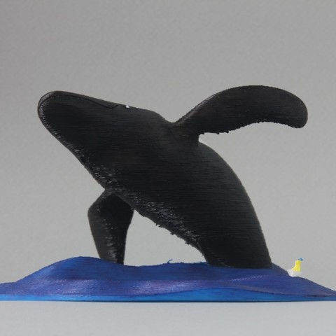 Print_coloured_1.jpg Télécharger fichier STL gratuit Saut à la grande baleine • Objet imprimable en 3D, GabrielYun
