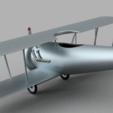 Download free STL file Biplane with Heart • 3D printing design, GabrielYun