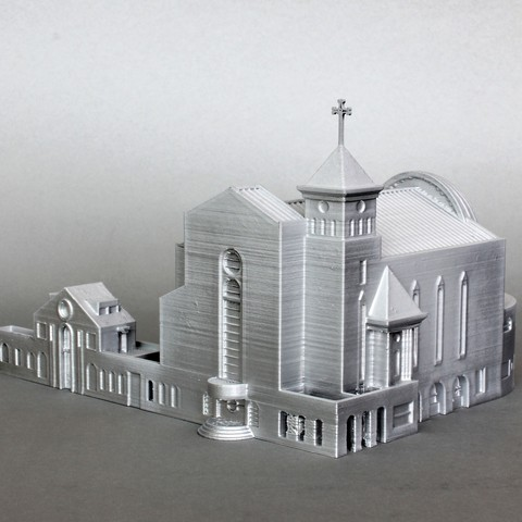 Download free 3D printer designs Suseo Cathedral, GabrielYun