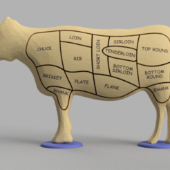 Descargar diseños 3D gratis Rompecabezas de Carne de Res, GabrielYun