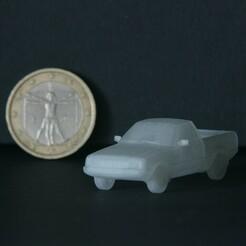 Pony_Pickup_H0.jpg Télécharger fichier STL Hyundai Pony Pickup 1989 (échelle H0) • Modèle pour imprimante 3D, GabrielYun