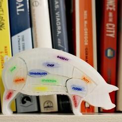 Imprimir en 3D Rompecabezas de cerdo, GabrielYun