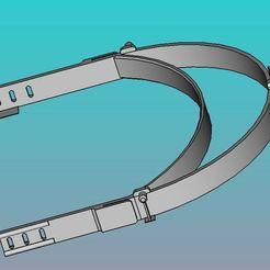 Impresiones 3D gratis Visera protectora para un cuidador, pierre4