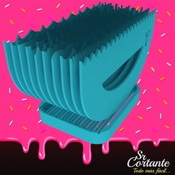 Download 3D printing files Kit of 10 spatulas for cake decoration, SrCortante