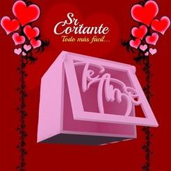 CAJITAS_MUESTRA08.jpg Download STL file BOX VALENTINE'S DAY • Object to 3D print, SrCortante