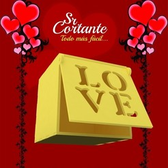 CAJITAS_MUESTRA02.jpg Download STL file BOX VALENTINE'S DAY • Object to 3D print, SrCortante